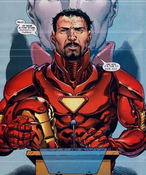 tony stark comic avengers