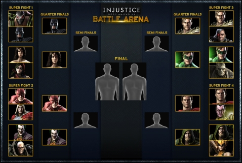 injustice battle arena semifinales