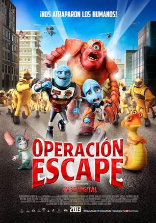 operacion escape poster diego luna